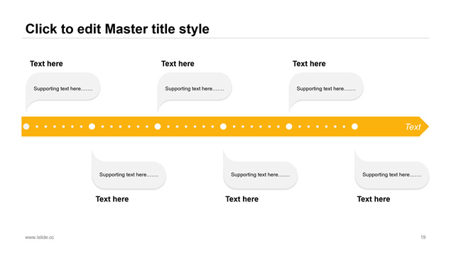 黄色英文极简商务工作总结PPT模板
