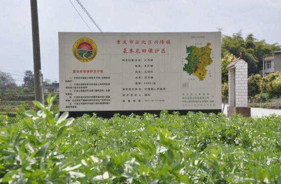 基本农田标志牌